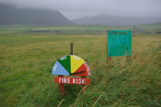 FIRE RISK INDICATOR AT MOANESS